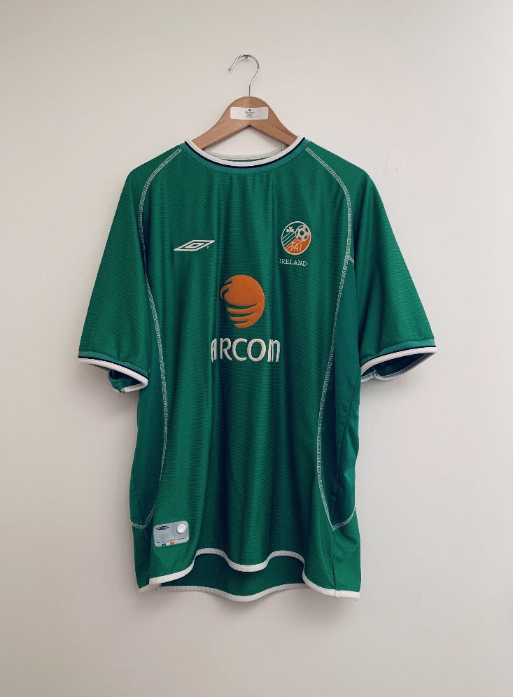 2001/03 Ireland Home Shirt (XL)