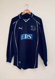 2000/01 Derby County Away L/S Shirt (S) 7.5/10