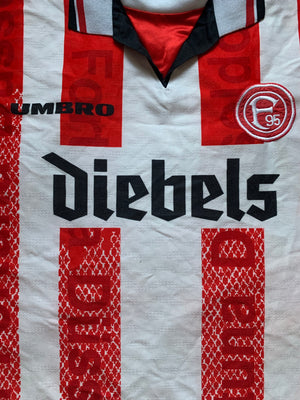 1996/98 Fortuna Dusseldorf Home Shirt (XL) 9/10