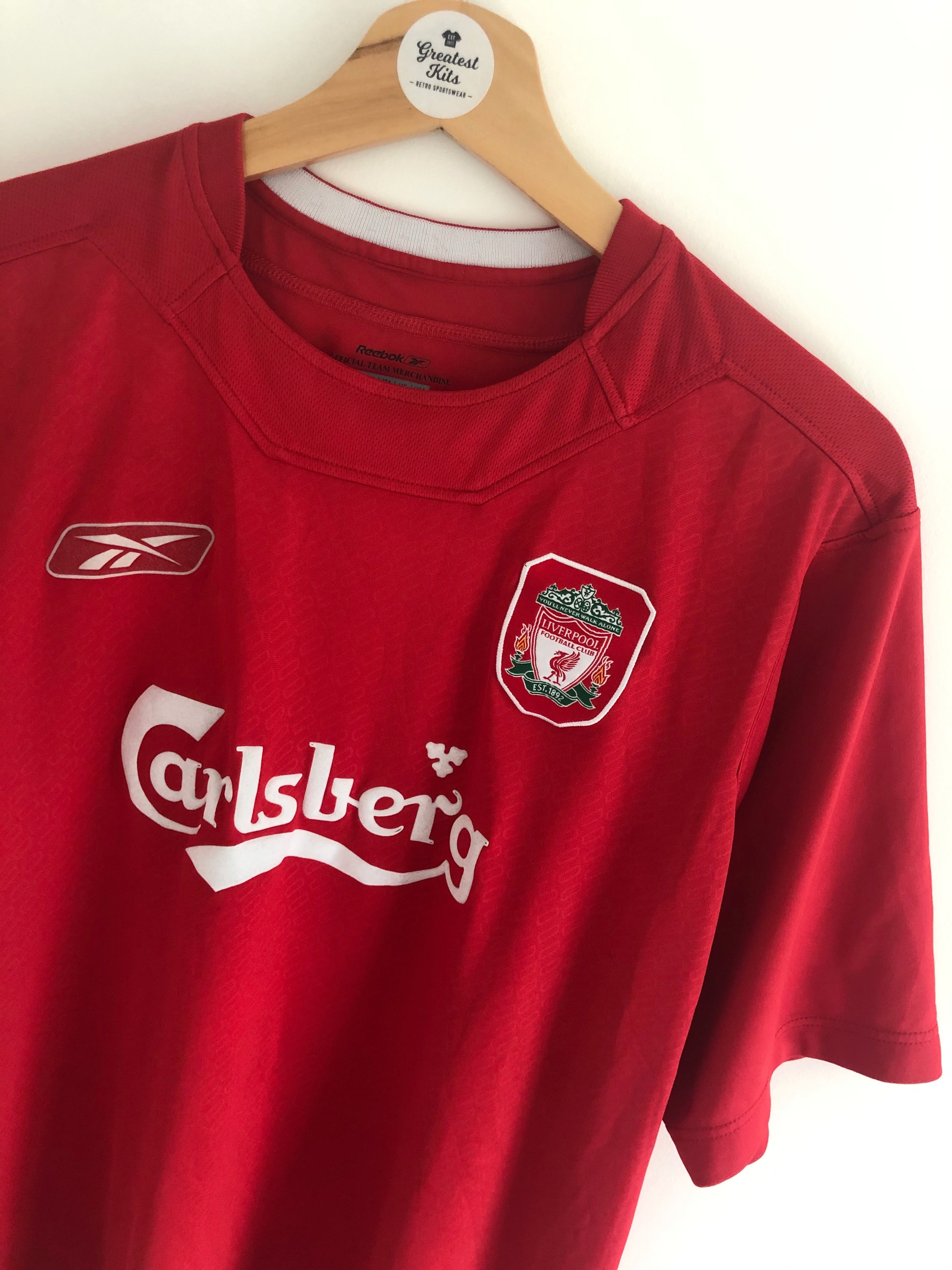 2004/06 Liverpool Home Shirt (L) 9/10
