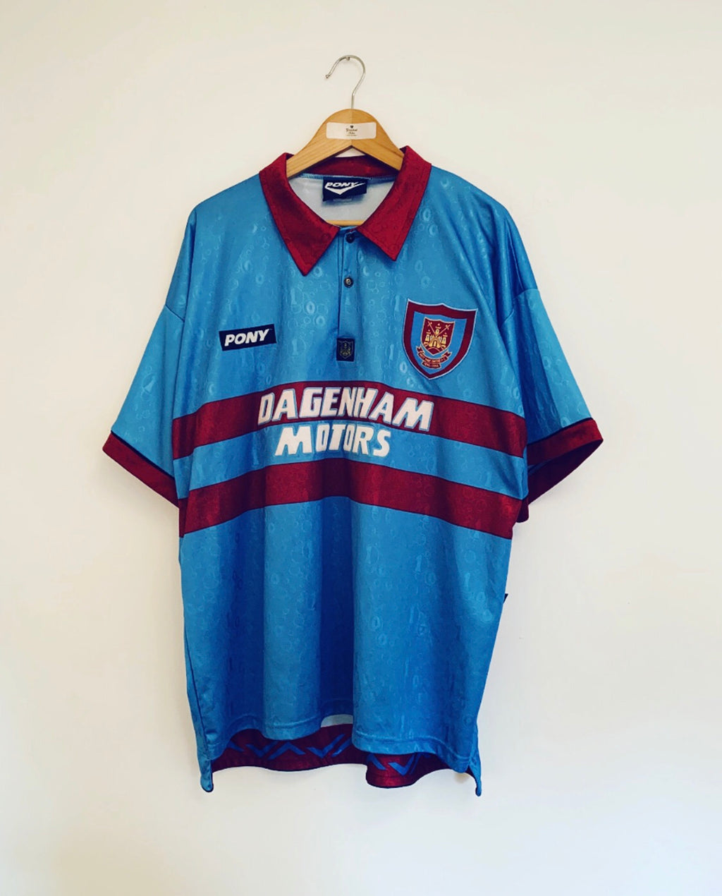 1995/97 West Ham Away Centenary Shirt (XL)