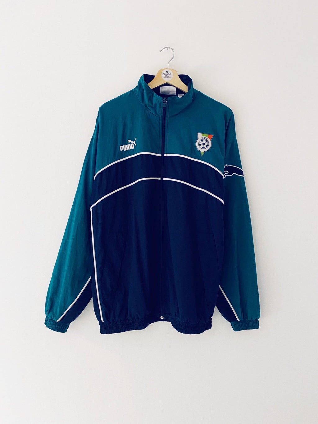 2000/02 Bulgaria Training Jacket (XL) 9/10