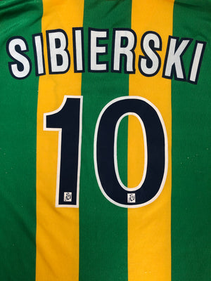 1998/00 Nantes Home Shirt Sibierski #10 (XL) 7/10