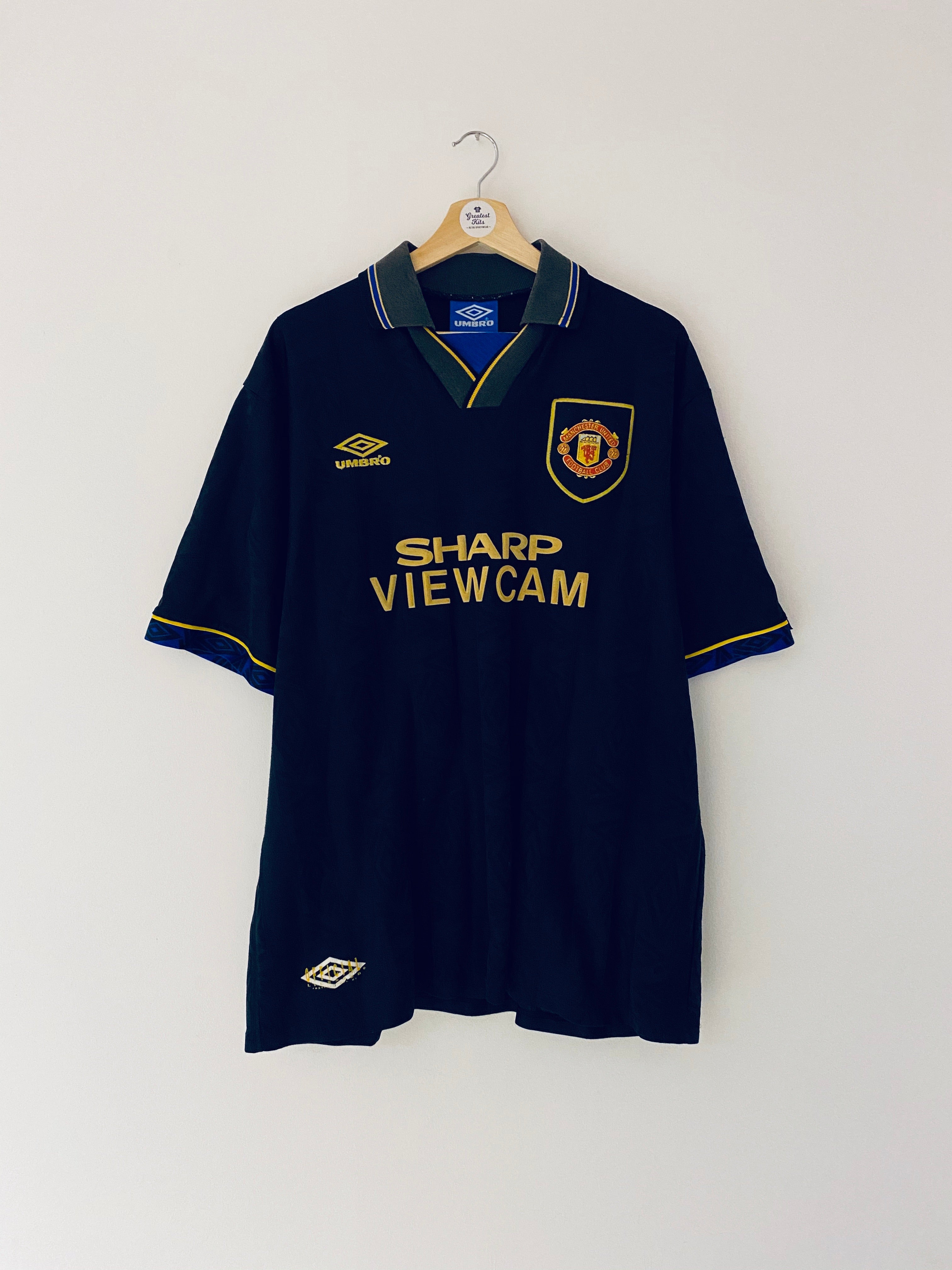 1993/95 Manchester United Away Shirt (XXL) 7.5/10