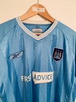 2003/04 Manchester City Home Shirt (XL) 7.5/10