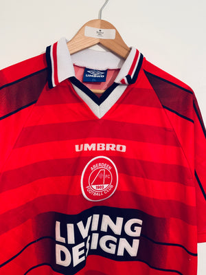 1996/97 Aberdeen Home Shirt (XXL) 8/10