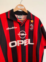 1997/98 AC Milan Home Shirt (XL)