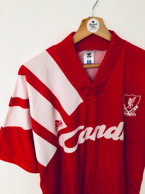 1991/92 Liverpool Home Shirt (L) 10/10