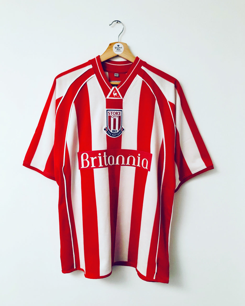 2001/03 Stoke City Home Shirt (M) 9/10