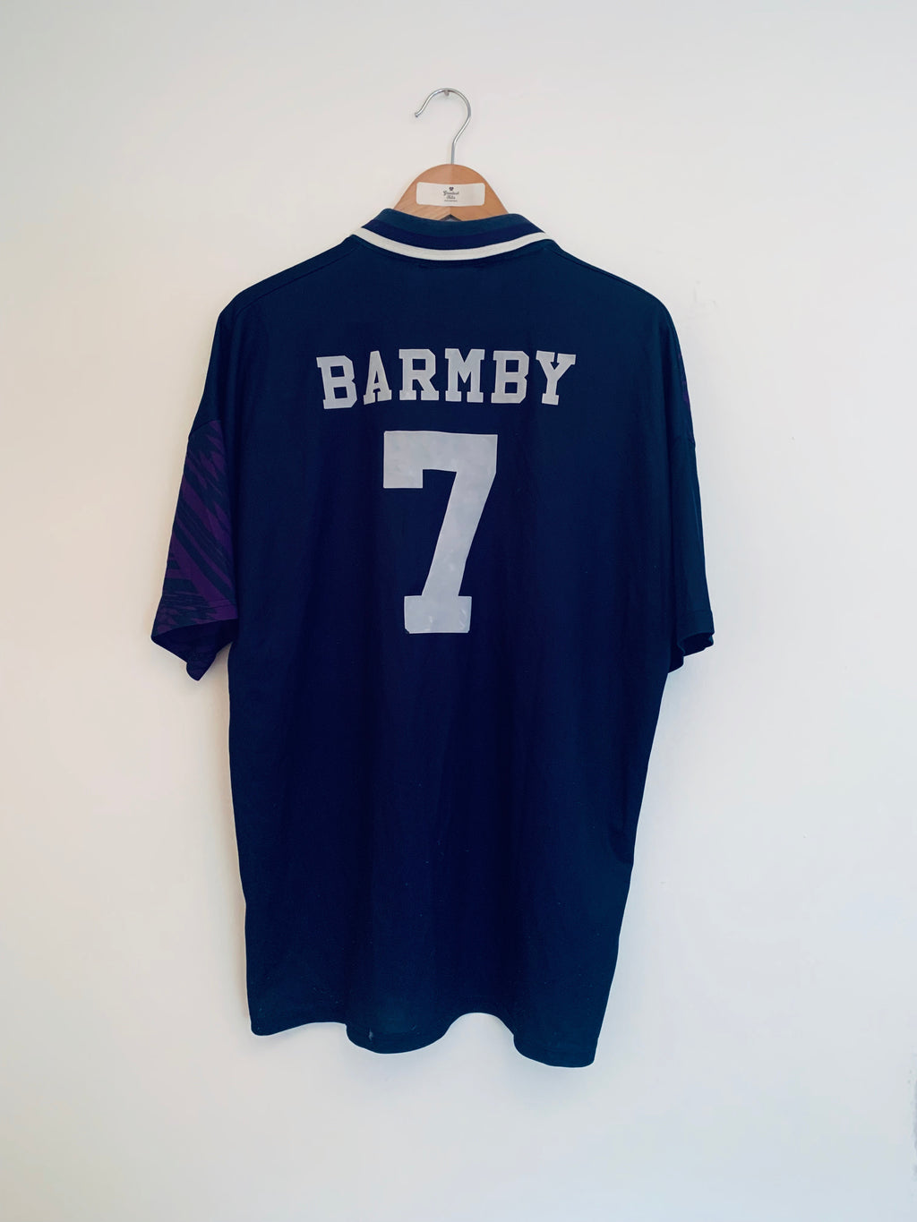 1994/95 Tottenham Away Shirt Barmby #7 (XL)