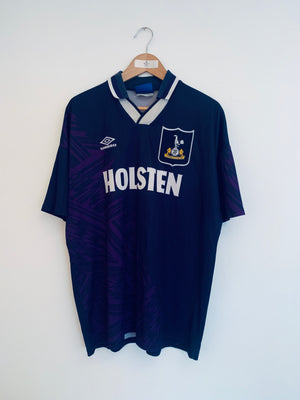 1994/95 Tottenham Away Shirt Barmby #7 (XL) 7/10