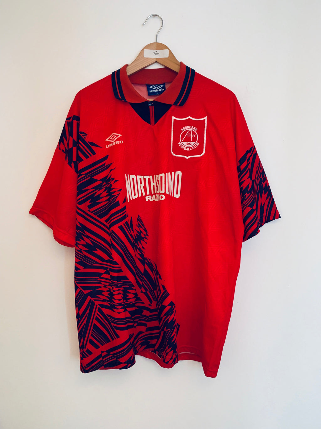 1994/96 Aberdeen Home Shirt (XXL) 9/10