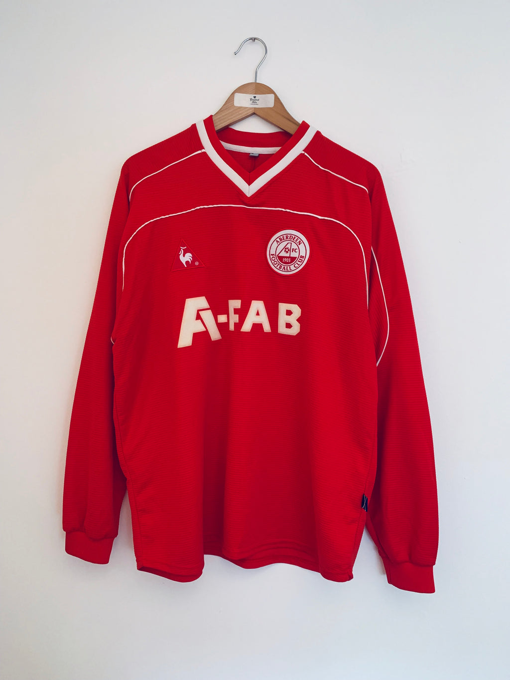 2002/04 Aberdeen Home L/S Shirt (L)