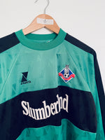 2000/01 Oldham Athletic GK Shirt *Signed* (M) 9/10