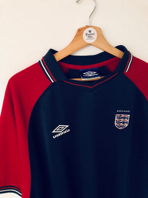 1999/01 England Training Polo Shirt (XXL) 8/10