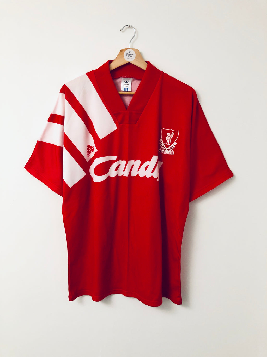 1991/92 Liverpool Home Shirt *MINT* (L)