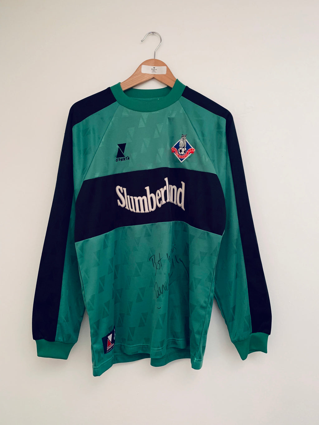 2000/01 Oldham Athletic GK Shirt *Signed* (M)