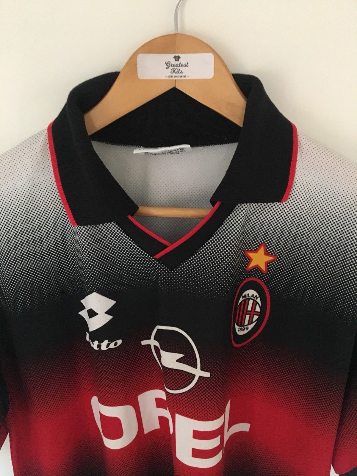 1995/96 AC Milan Training Shirt (L)