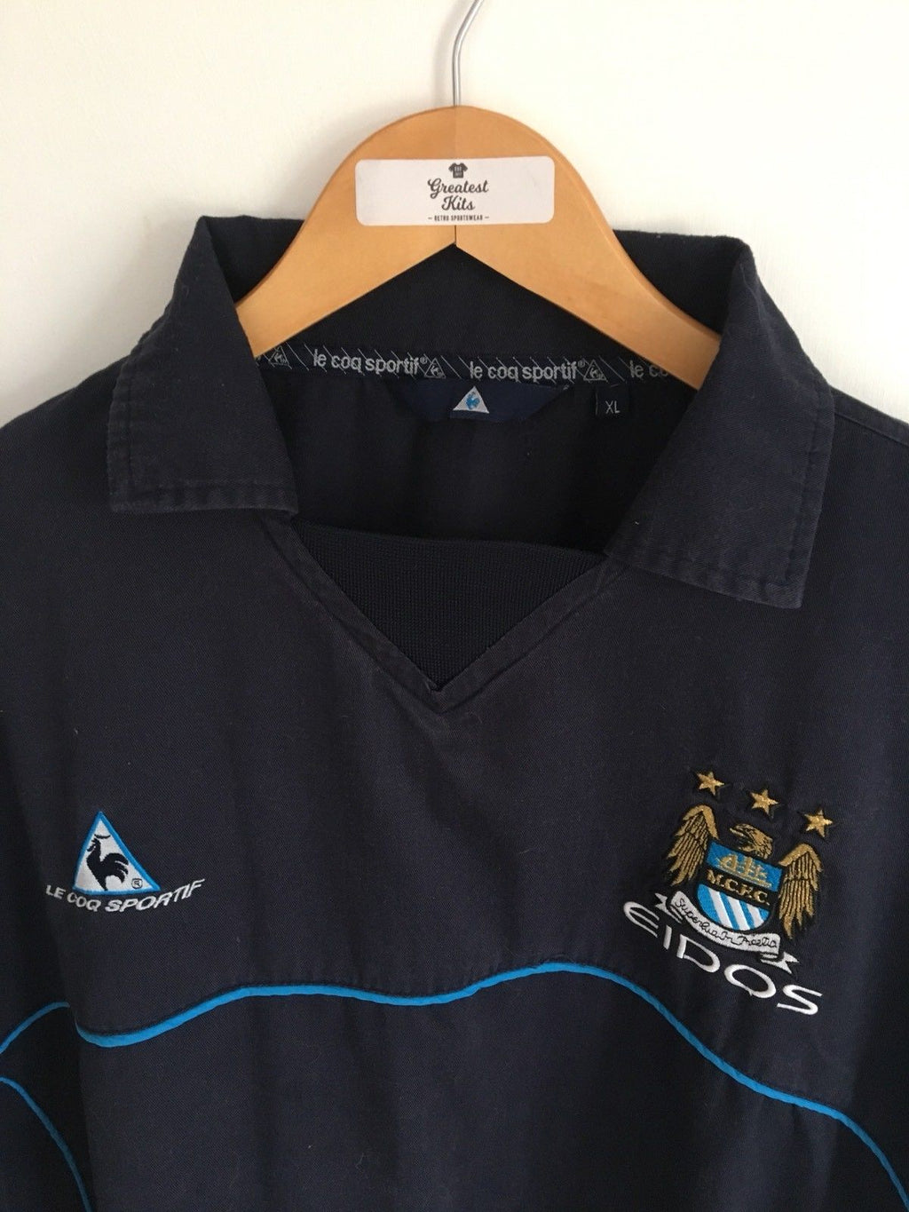 1999/01 Manchester City Drill Top (XL) 8.5/10