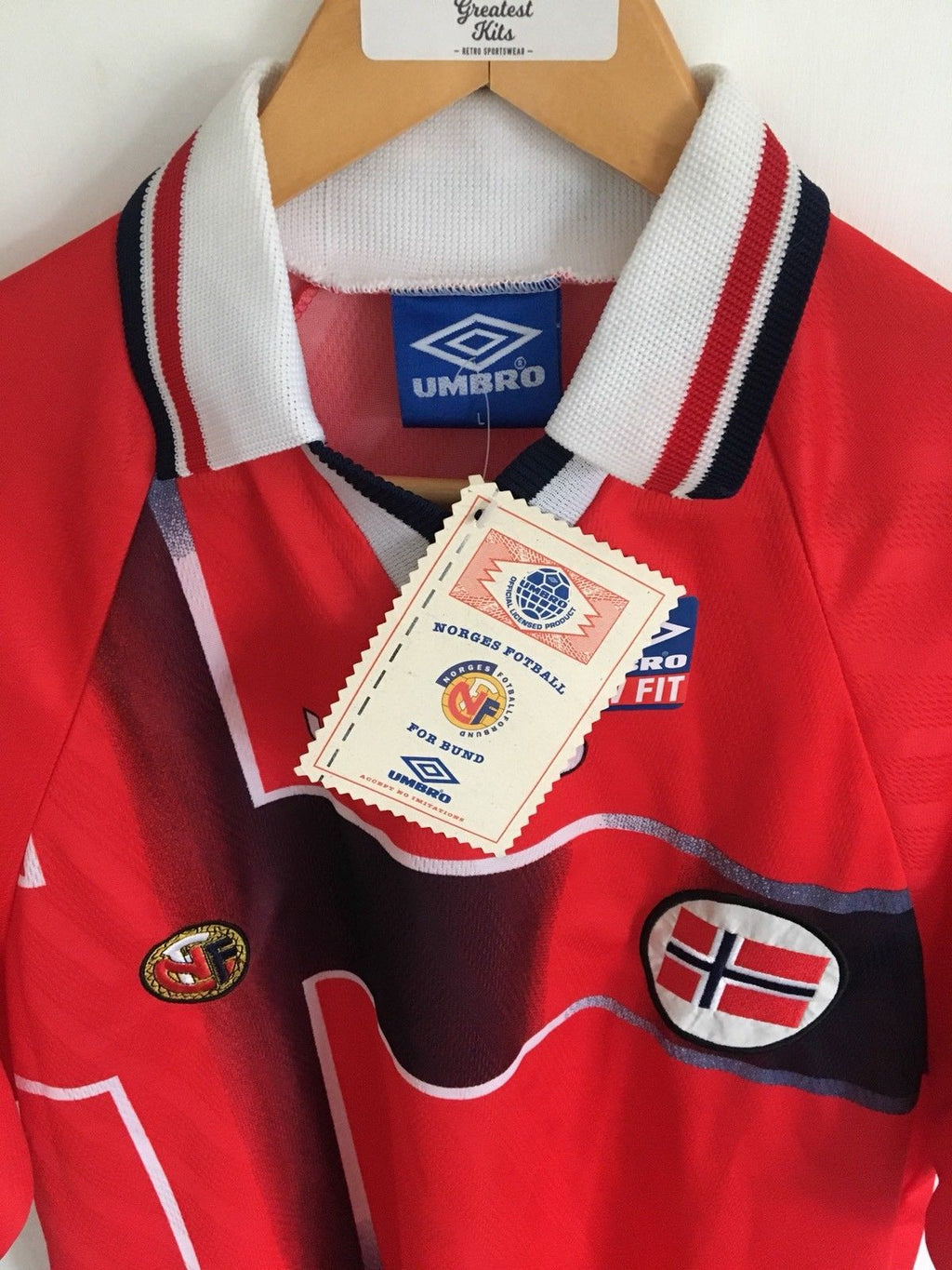 1997/98 Norway Home Shirt *w/Tags* (L)