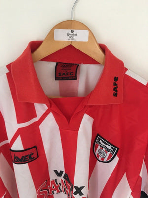 1994/96 Sunderland Home Shirt (L) 9/10