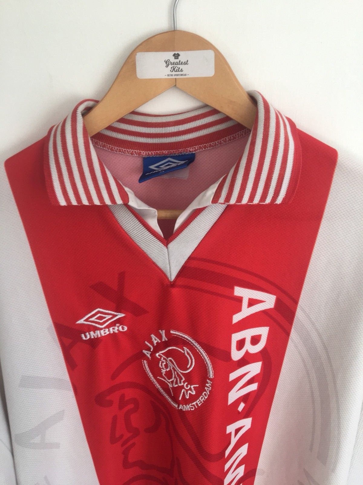 1995/96 Ajax Home Shirt (XL) 9/10
