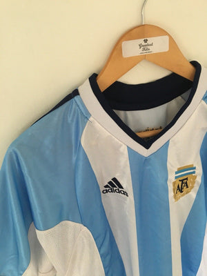 2001/02 Argentina Home Shirt (XL) 9/10