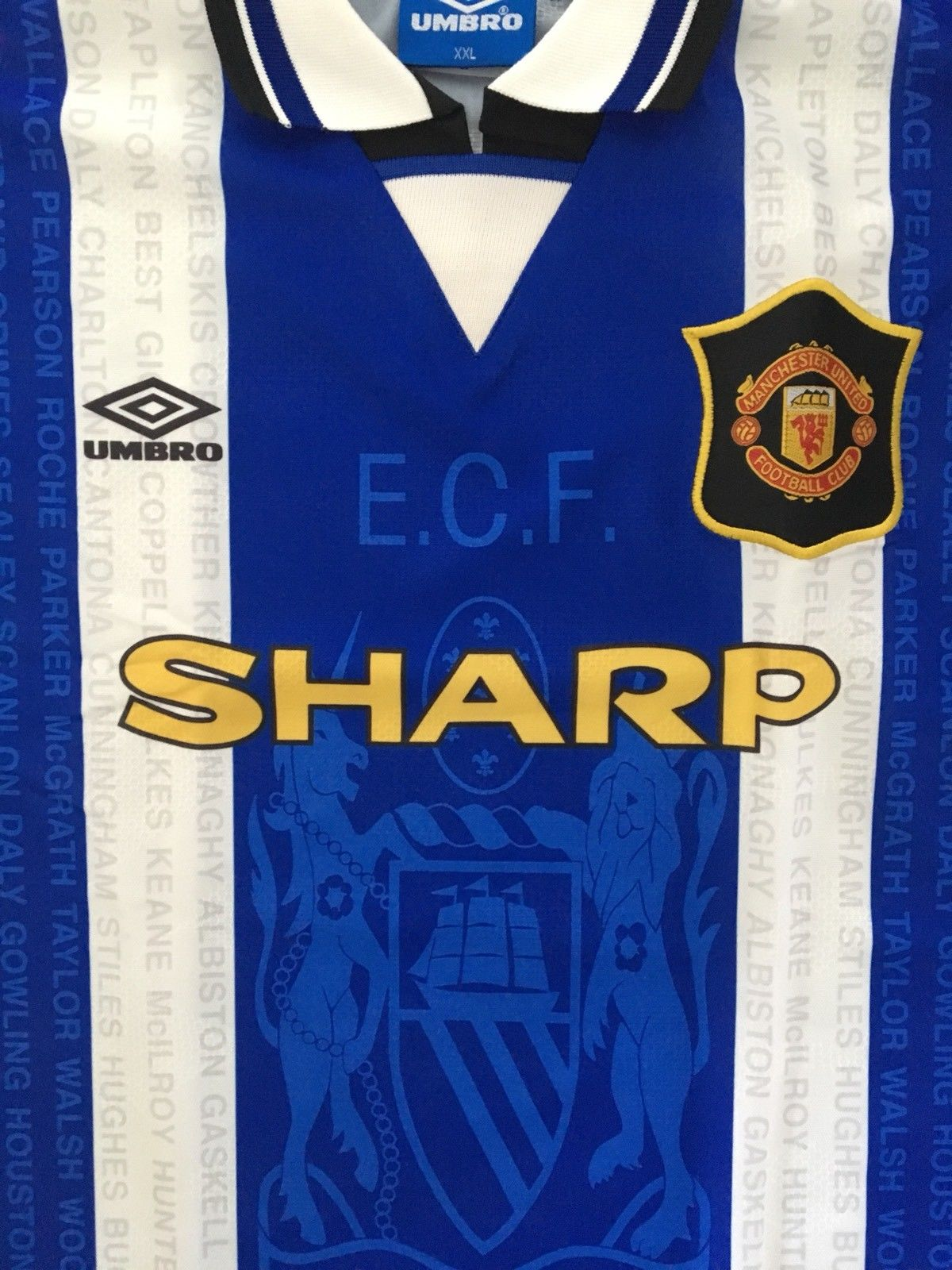 1994/96 Manchester United Third Shirt *MINT* (XXL)