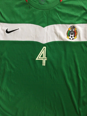 2005/06 Mexico Home Shirt Marquez #4 (XL) 9.5/10