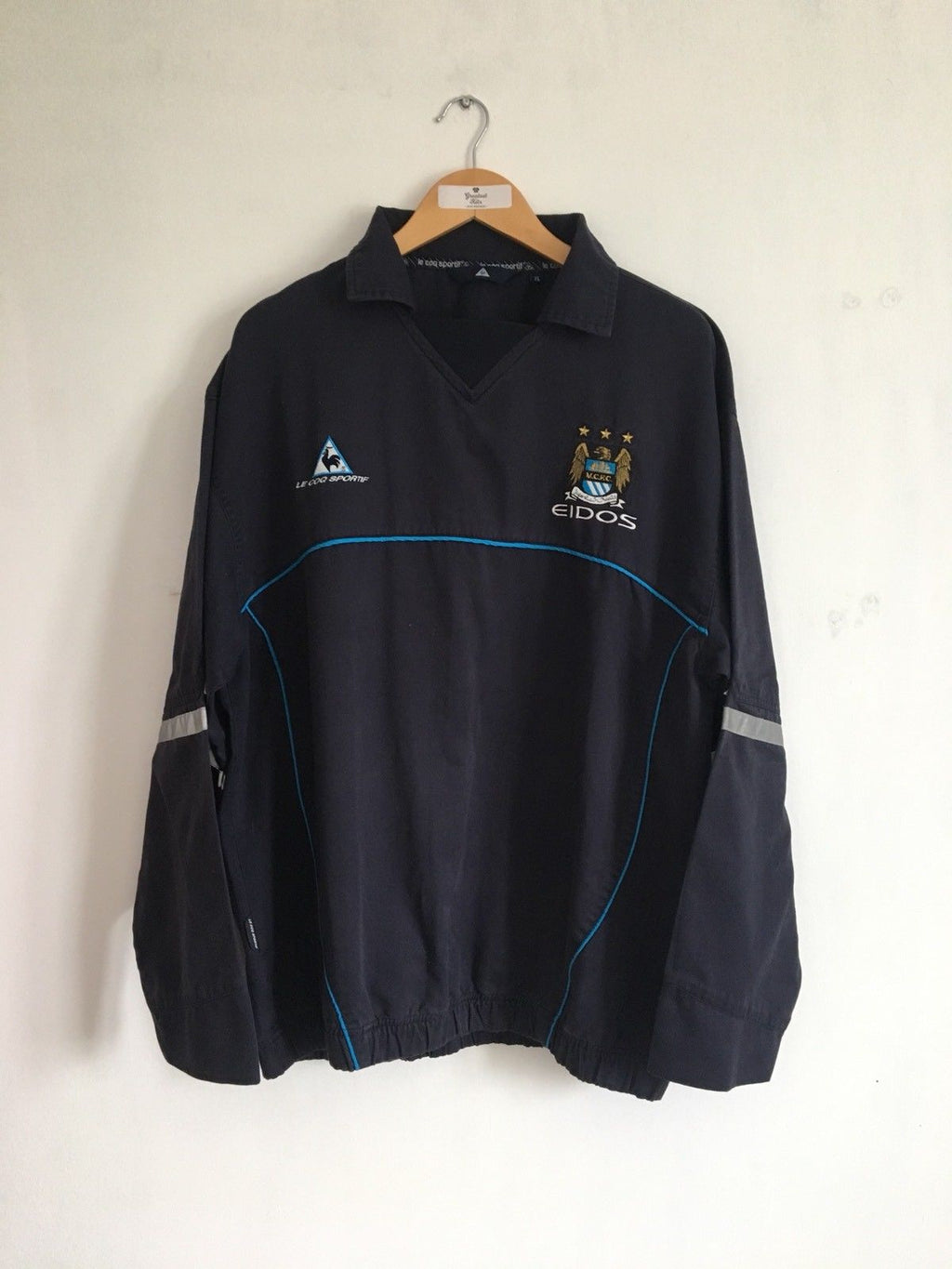 1999/01 Manchester City Drill Top (XL) 8/10