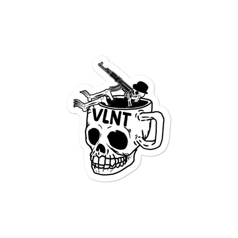 Violent Joe Coffee Tub Sticker