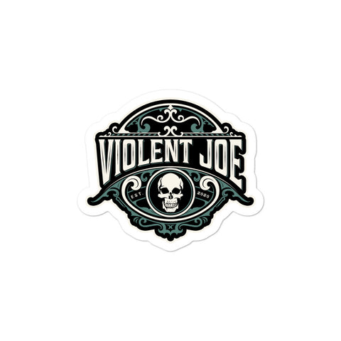 Violent Joe Coffee Brand Logo Sticker