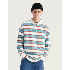 SOLEMN WALKERS STRIPED LONG SLEEVE SHIRT