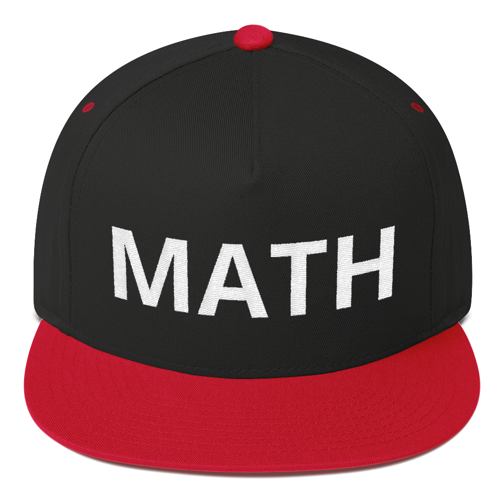 MATH YANG GANG SUPPORTER Flat Bill Cap