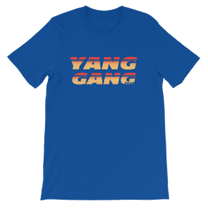 YANG GANG 2020 SUPPORTERS AESTHETIC Short-Sleeve Unisex T-Shirt