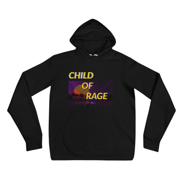 CHILD OF RAGE OUTRUN UNISEX HOODIE