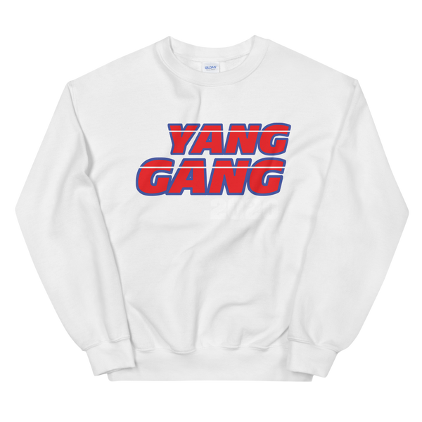 YANG GANG 2020 HIPSTER AESTHETIC SUPPORTER HOODIE