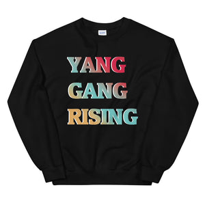 YANG GANG RISING SUPPORTERS Unisex Sweatshirt