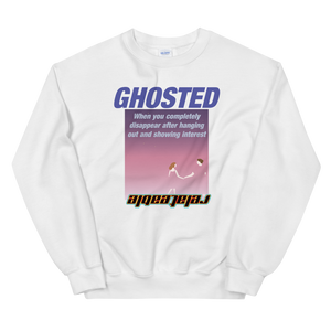 GHOSTED AESTHETIC UNISEX SWEATSHIRT