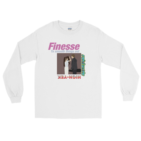 FINESSE UNISEX RELATEABLE LONG SLEEVE T-SHIRT