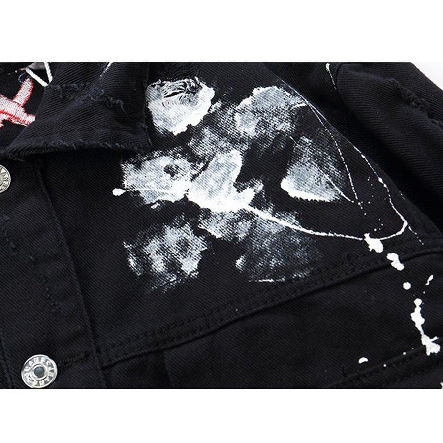 'PICASO' DEMIM FARERS JACKET