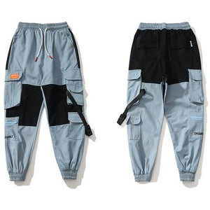 """WILL I BE MISSED?""AESTHETIC JOGGERS - SKY BLUE"