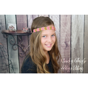 Bohemian Beaded Arrow Headband
