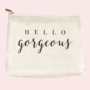 Hello Gorgeous Makeup Bag