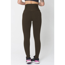 Brown High Up Legging