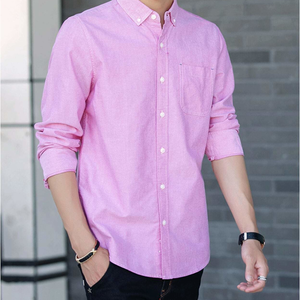 Mens Button Down Long Sleeve