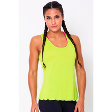 Lime Crossover Back Tank