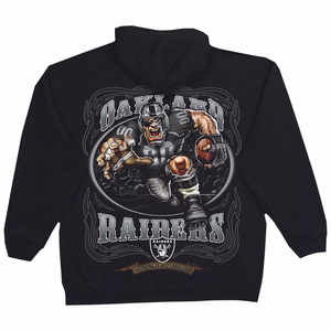 Men's New NFL Running Back Oakland Raiders Hoodie, MEDIUM, Style Number RU229