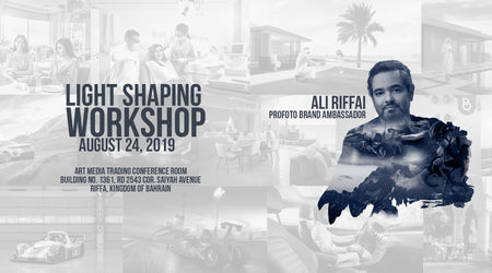 Light Shaping Workshop by Ali Riffai (Finished)