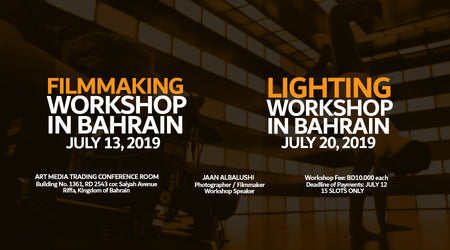 Lighting and Filmmaking Workshop in Bahrain (Finished)